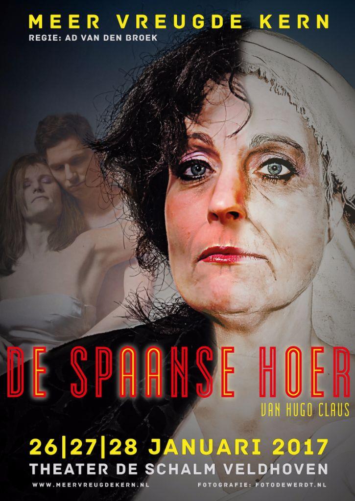 De Spaanse Hoer Poster